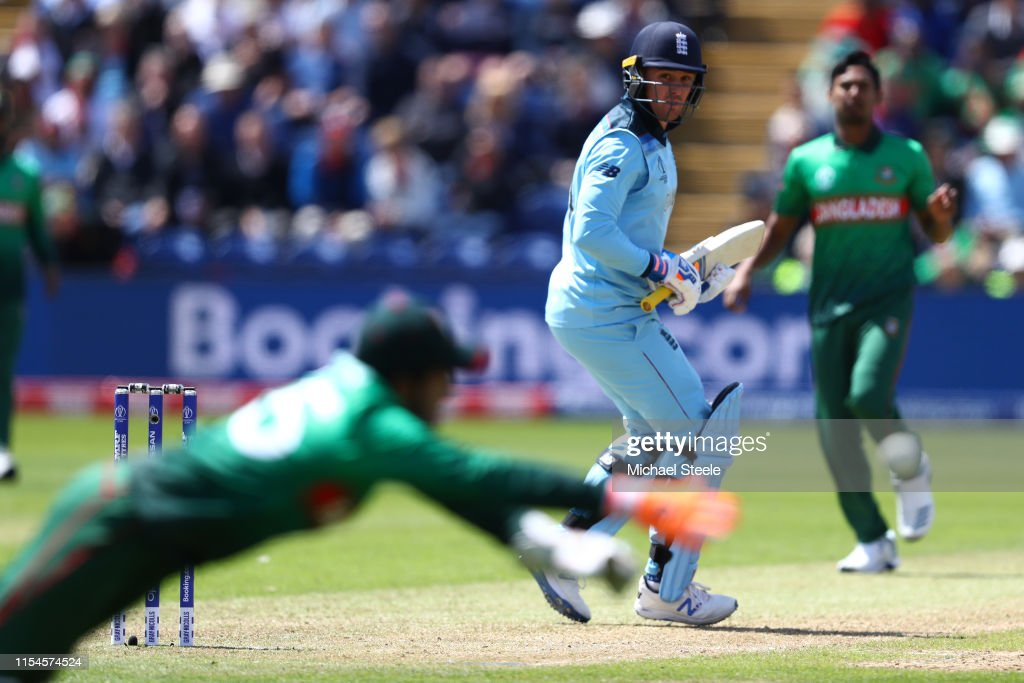England v Bangladesh - ICC Cricket World Cup 2019 : News Photo