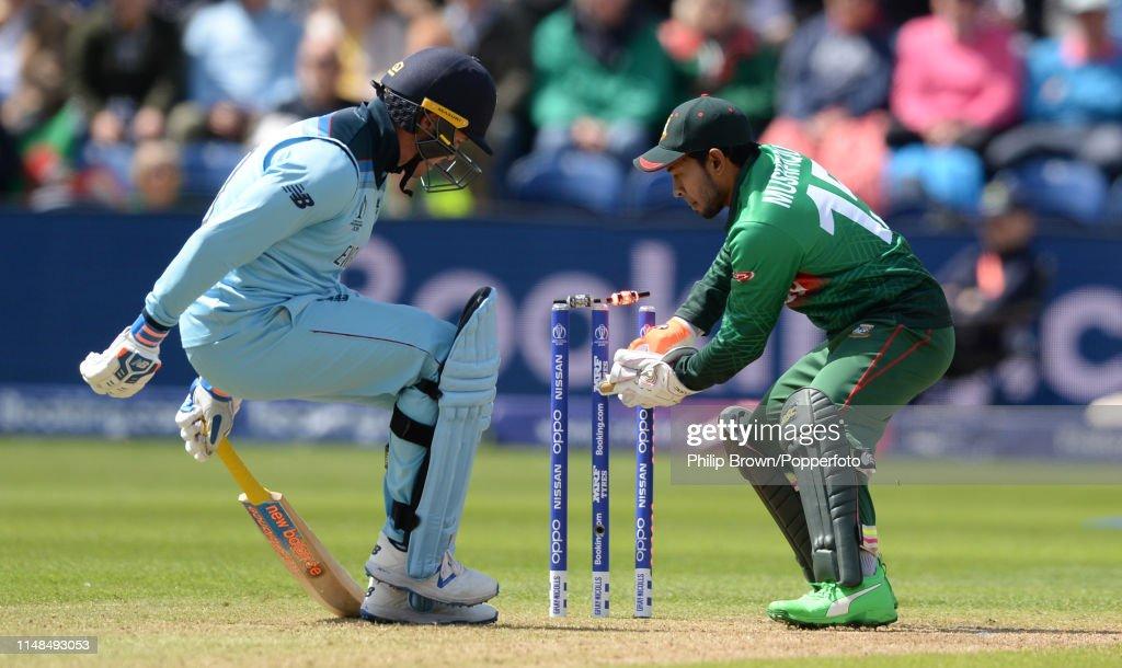England v Bangladesh - ICC Cricket World Cup 2019 : News Photo