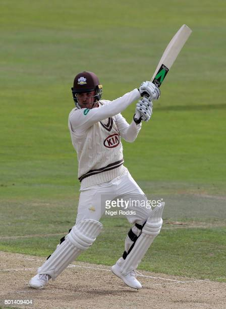 Jason Roy of Surrey during the Specsavers County Championship Division One match between Yorkshire and Surrey at Headingley on June 26 2017 in Leeds...