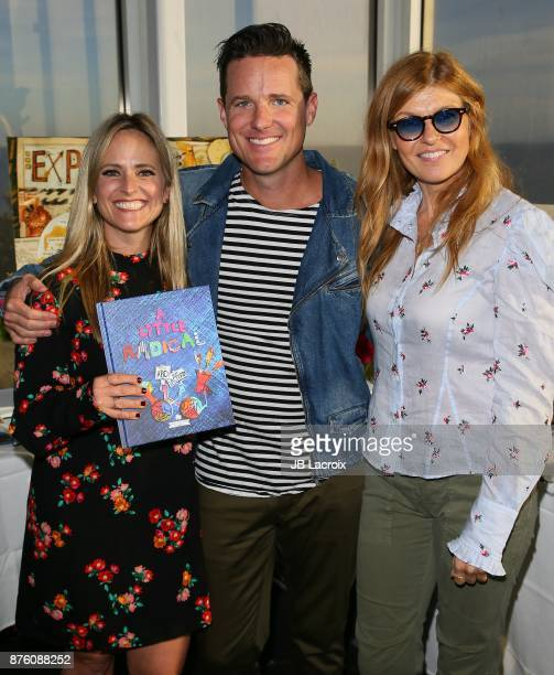 Jason Russell Danica Russell Connie Britton and their children attend the launch party for 'A Little Radical The ABC's Of Activism' hosted by Connie...
