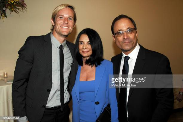 Jason Russell Mary Boone and Ross Bleckner attend WELCOME TO GULU EXHIBITION AND BENEFIT ART SALE ANTIHUMAN TRAFFICKING INNITIATIVE at The United...