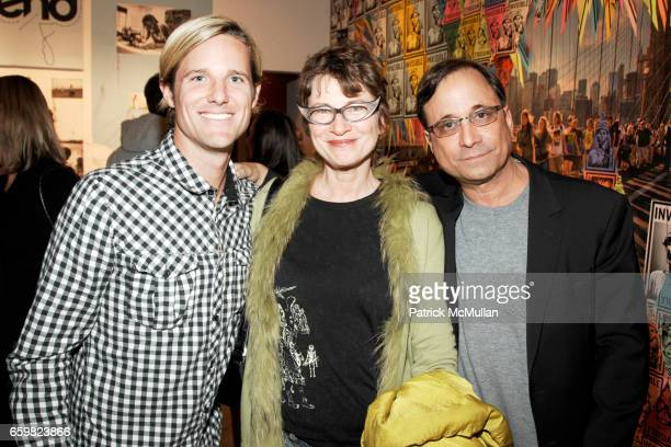 Jason Russell Ross Bleckner and Nancy Martin attend PARC Foundation presents An INVISIBLE CHILDREN Experience at PARC Foundation on November 4 2009...