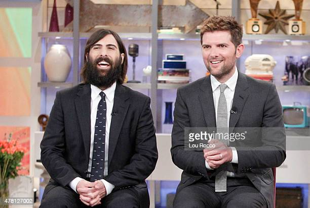 THE VIEW Jason Schwartzman and Adam Scott visit THE VIEW airing Friday June 19 airing on the Walt Disney Television via Getty Images Television...