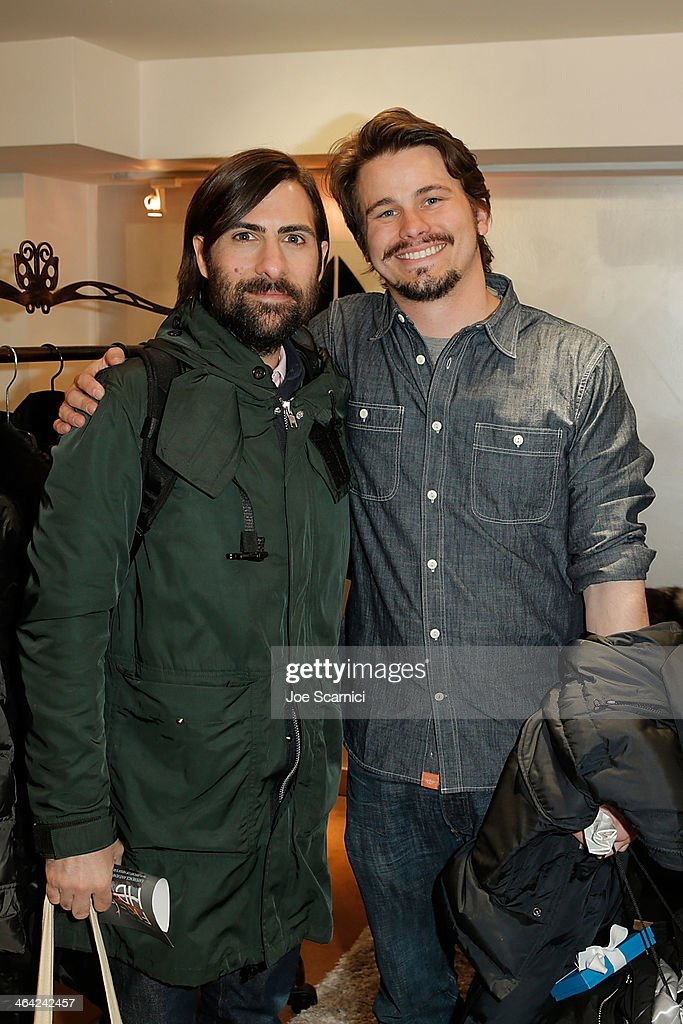 Jason Schwartzman and Jason Ritter attend The Variety Studio: Sundance Edition Presented By Dawn Levy on Day 4 of the 2014 Park City2014 in Park City, Utah.