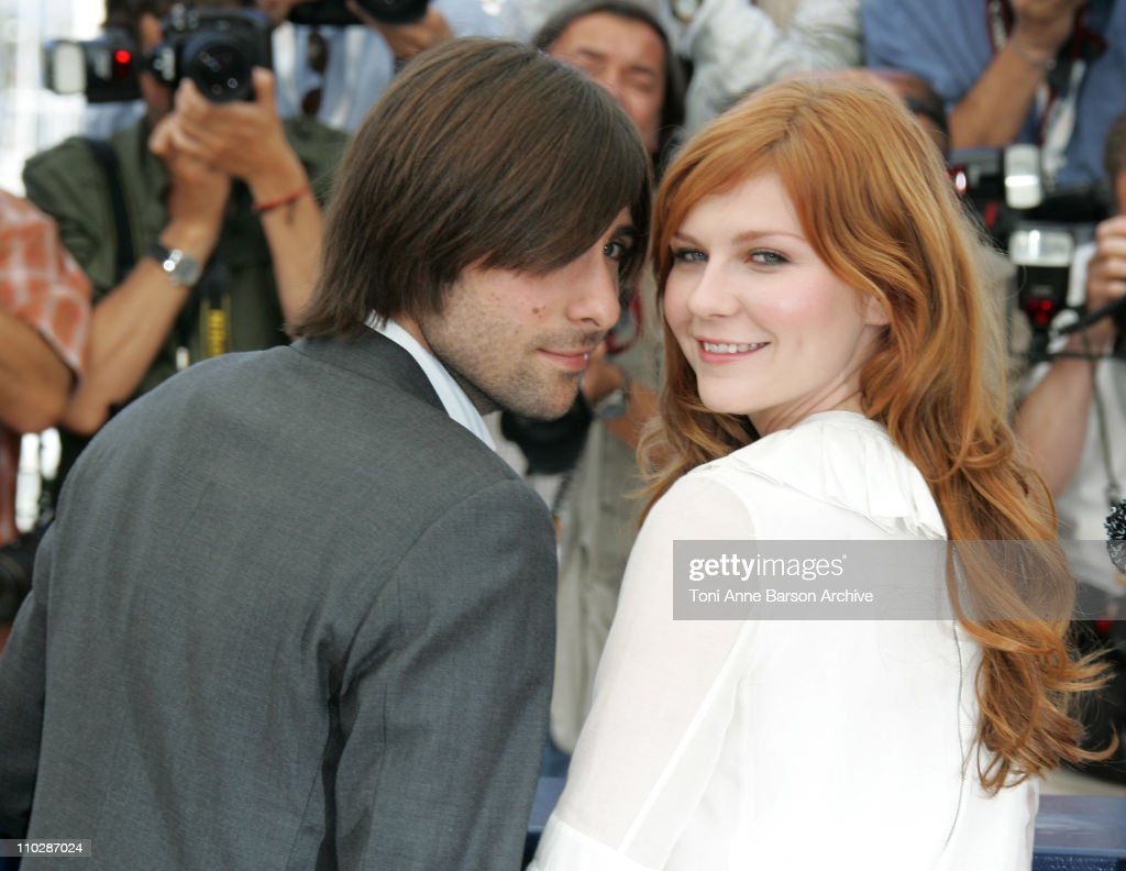Jason Schwartzman and Kirsten Dunst during 2006 Cannes Film Festival - 'Marie Antionette' - Photocall at Palais des Festival in Cannes, France.