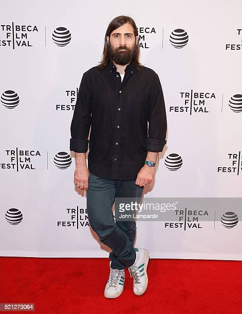 Jason Schwartzman attends Dreamland premiere during 2016 Tribeca Film Festival at Chelsea Bow Tie Cinemas on April 14 2016 in New York City