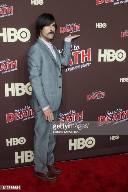 Jason Schwartzman attends HBO Presents the Season Premiere of BORED TO DEATH at NYU Skirball Center on September 21 2010 in New York City