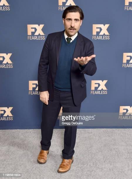 Jason Schwartzman attends the FX Networks' Star Walk Winter Press Tour 2020 at The Langham Huntington Pasadena on January 09 2020 in Pasadena...