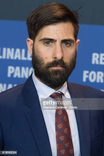 Jason Schwartzman attends the 'Isle of Dogs' press conference during the 68th Berlinale International Film Festival Berlin at Grand Hyatt Hotel on...