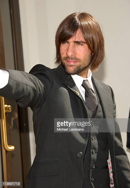 """Jason Schwartzman during The 44th New York Film Festival - """"Marie Antoinette"""" Press Conference at Alice Tully Hall in New York City, New York, United..."""