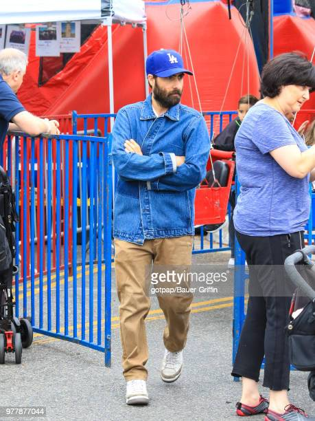 Jason Schwartzman is seen on June 17 2018 in Los Angeles California