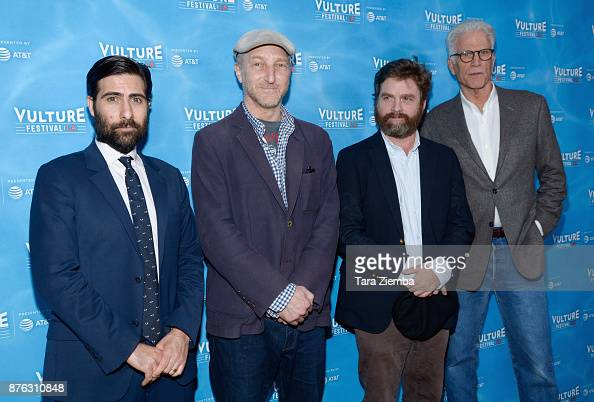 Jason Schwartzman Jonathan Ames Zach Galifianakis And Ted Danson News Photo Getty Images