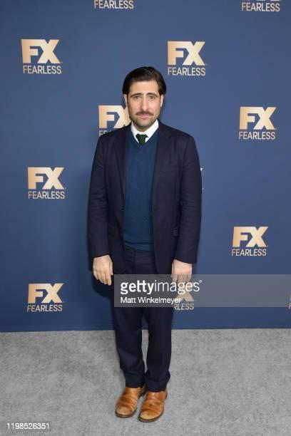 Jason Schwartzman of 'Fargo' attends the FX Networks' Star Walk Winter Press Tour 2020 at The Langham Huntington Pasadena on January 09 2020 in...
