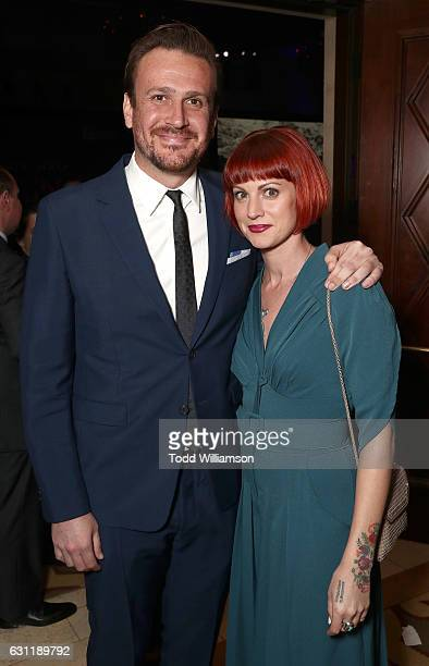 Jason Segel and Alexis Mixter attend the 6th Annual Sean Penn Friends HAITI RISING Gala Benefiting J/P Haitian Relief Organization at Montage Beverly...