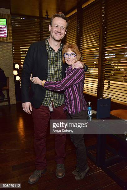 Jason Segel and Jane Anderson attend the Film Independent Director Close Up: James Ponsoldt And Jason Segel at Landmark Theatre on February 3, 2016...