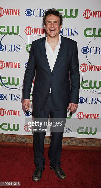 Jason Segel arrives at the TCA Party for CBS The CW and Showtime held at The Pagoda on August 3 2011 in Beverly Hills California