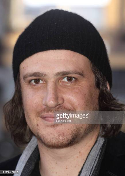 Jason Segel arrives at the VIP screening of 'I love You Man' at Soho Hotel on April 8 2009 in London England