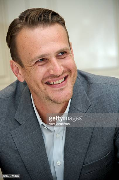 Jason Segel at 'The End Of The Tour' Press Conference at the Four Seasons Hotel on July 14 2015 in Beverly Hills California