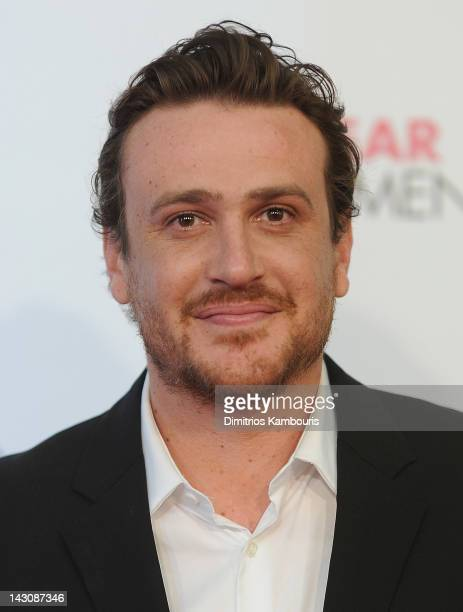 Jason Segel attends the premiere of 'The Five Year Engagement during the 2012 Tribeca Film Festival at the Ziegfeld Theatre on April 18 2012 in New...