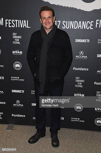 Jason Segel attends the The Discovery premiere during day 2 of the 2017 Sundance Film Festival at Eccles Center Theatre on January 20 2017 in Park...