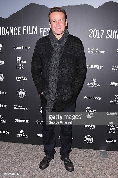 Jason Segel attends the 'The Discovery' premiere during day 2 of the 2017 Sundance Film Festival at Eccles Center Theatre on January 20 2017 in Park...