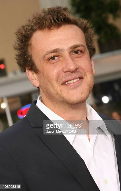 Jason Segel during 'Knocked Up' Los Angeles Premiere Arrivals at Mann Village Theater in Westwood California United States