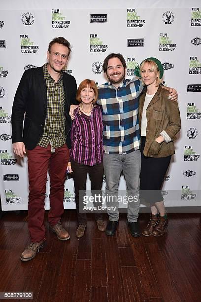 Jason Segel Jane Anderson James Ponsoldt and Mickey Sumner attend the Film Independent Director Close Up James Ponsoldt And Jason Segel at Landmark...