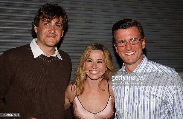 Jason Segel Linda Cardellini and Kevin Riley during 2004 NBC All Star Party Inside at Universal Studios Hollywood in Universal City California United...