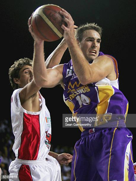 Jason Smith for the Kings in action during game 3 of the NBL Finals Series between the Sydney Kings and Wollongong Hawks at the Sydney entertainment...