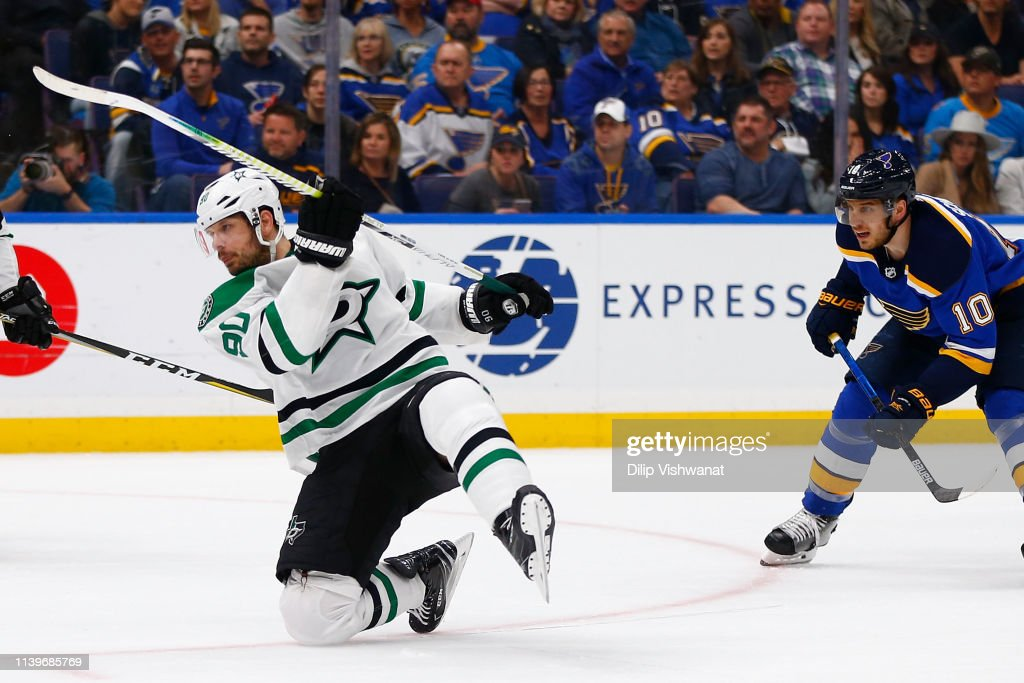 Dallas Stars v St Louis Blues - Game Two : News Photo