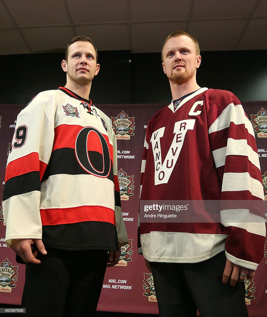 NHL Heritage Classic Jersey Unveiling