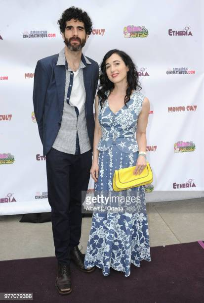 Jason Stare and Catherine Black arrive for the 2018 Etheria Film Night held at the Egyptian Theatre on June 16 2018 in Hollywood California