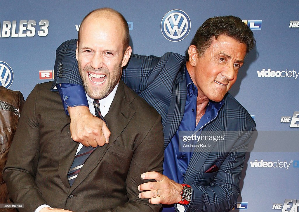 'The Expendables 3' German Premiere : News Photo