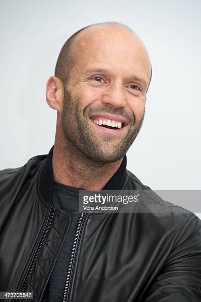 Jason Statham at the 'Spy' Press Conference at the Four Seasons Hotel on May 16 2015 in Beverly Hills California