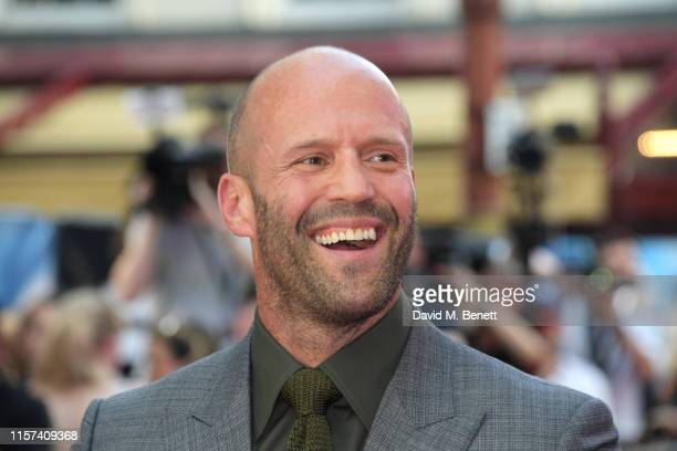 Jason Statham attends a special screening of Fast Furious Hobbs Shaw at The Curzon Mayfair on July 23 2019 in London England
