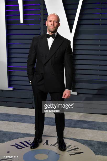 Jason Statham attends the 2019 Vanity Fair Oscar Party hosted by Radhika Jones at Wallis Annenberg Center for the Performing Arts on February 24 2019...