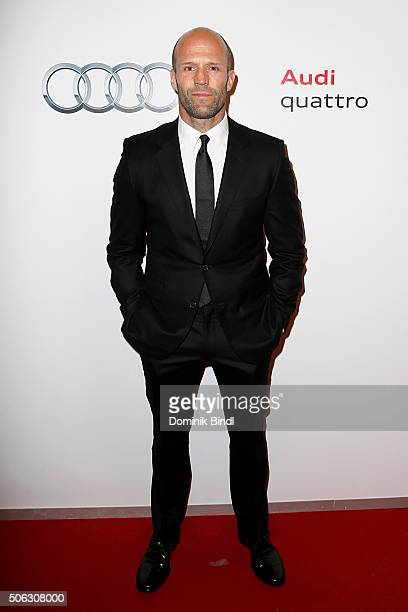 Jason Statham attends the Audi Night 2016 at Hotel zur Tenne on January 22 2016 in Kitzbuehel Austria