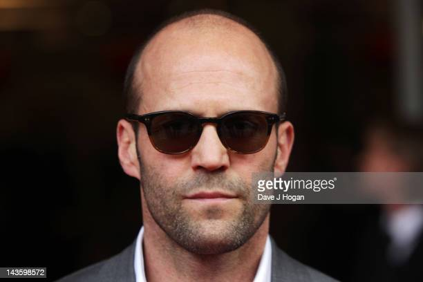 Jason Statham attends the European premiere of Safe at The BFI IMAX on April 30 2012 in London England