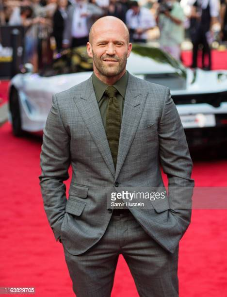 Jason Statham attends the Fast Furious Hobbs Shaw Special Screening at The Curzon Mayfair on July 23 2019 in London England