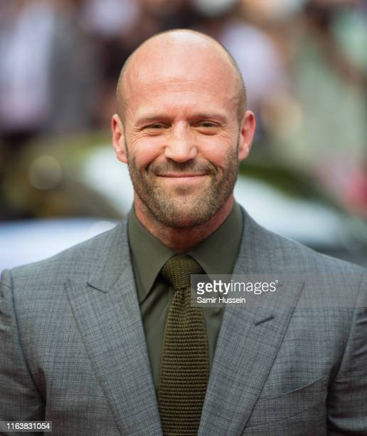 """Jason Statham attends the """"Fast & Furious: Hobbs & Shaw"""" Special Screening at The Curzon Mayfair on July 23, 2019 in London, England."""