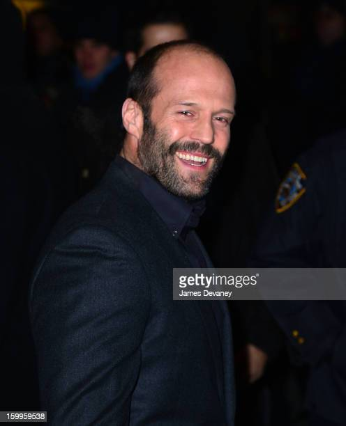 Jason Statham attends the FilmDistrict with The Cinema Society L'Oreal Paris Appleton Estate screening of 'Parker' at the Museum of Modern Art on...