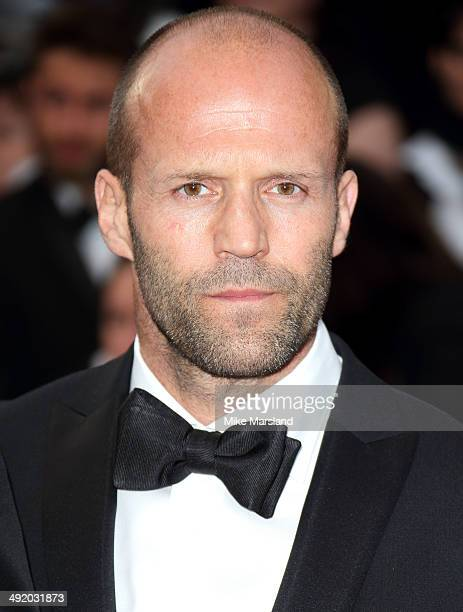 Jason Statham attends 'The Homesman' Premiere at the 67th Annual Cannes Film Festival on May 18 2014 in Cannes France