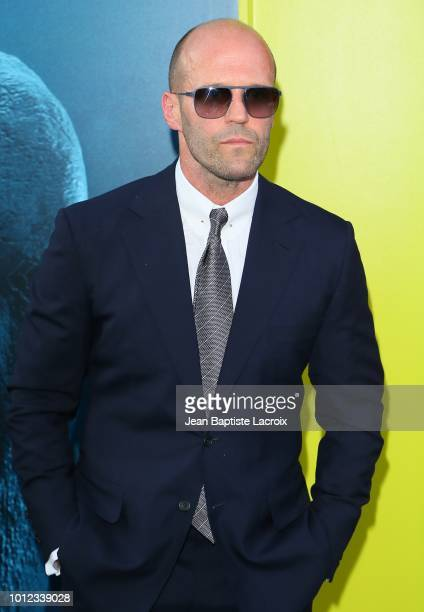 Jason Statham attends the premiere of Warner Bros Pictures and Gravity Pictures' Premiere of The Meg on August 06 2018 in Hollywood California