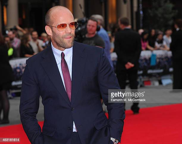 711fa2fc655 Jason Statham attends the World Premiere of  The Expendables 3  at Odeon  Leicester Square.