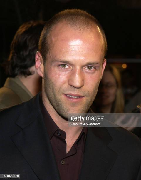 Jason Statham during 'The Transporter' Premiere at Mann Village Theater in Westwood California United States