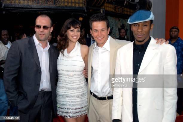 Jason Statham Kelly Brook Mark Wahlberg and Mos Def