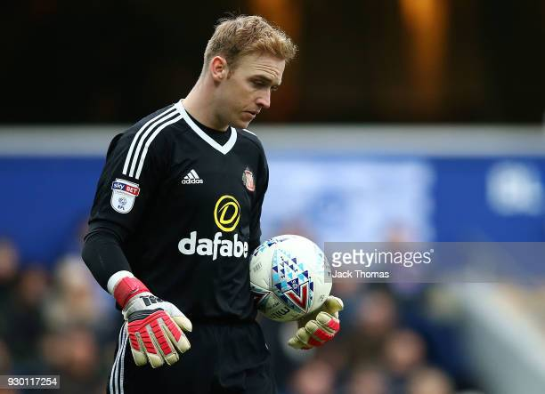 Jason Steele of Sunderland in action during the Sky Bet Championship match between QPR and Sunderland at Loftus Road on March 10 2018 in London...