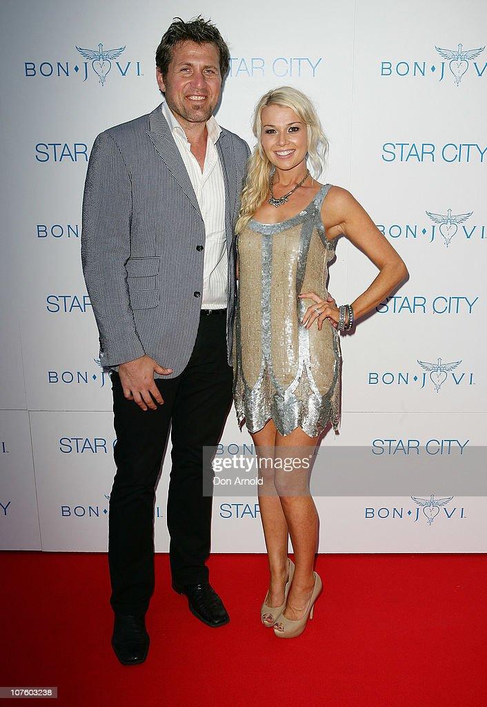 Bon Jovi Perform Exclusive Concert In Sydney - Arrivals