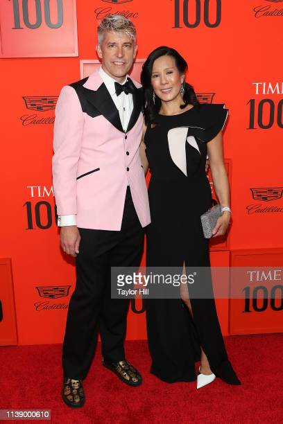 Jason Stinson and Aileen Lee attend the 2019 Time 100 Gala at Frederick P Rose Hall Jazz at Lincoln Center on April 23 2019 in New York City