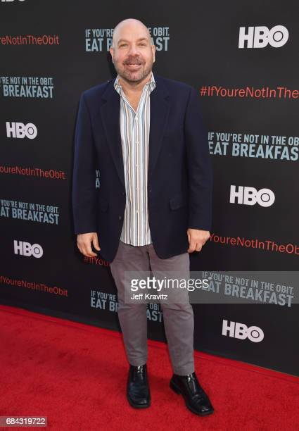 Jason Stuart at the LA Premiere of If You're Not In The Obit Eat Breakfast from HBO Documentaries on May 17 2017 in Beverly Hills California